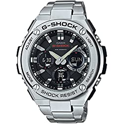 G-Shock Men's G-Steel Watch, Stainless Steel/Black, One Size