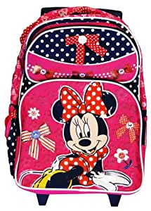 Disney Minnie Mouse Roller Backpack Bag