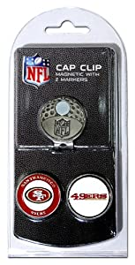 NFL San Fransisco 49ers Cap Clip With 2 Markers