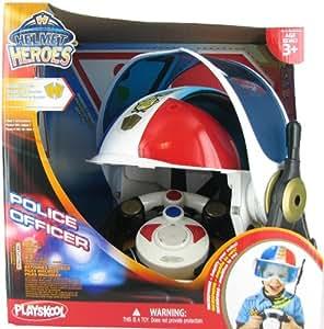 Buy playskool police adventure squad helmet heroes online - Playskool helmet heroes police officer ...