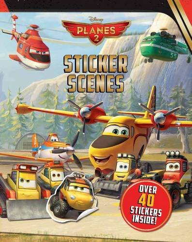 Disney Planes 2 Sticker Scenes (Disney Planes 2 Fire & Rescue)
