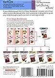 Lets Sticker & Paste! (Kumon First Steps Workbooks)