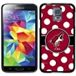 Coveroo Thinshield Cell Phone Case For Samsung Galaxy S5  - Retail Packaging - Arizona Coyotes - Polka Dots design