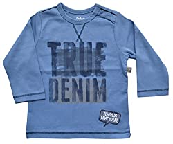 Baby Boy Long Sleeve T-Shirt with Print & Applique, 100% Cotton Single Jersey (to fit height 86-92cms)