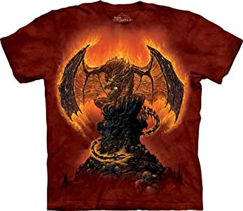 The Mountain Harbinger of Fire Dragon Adult T-shirt S