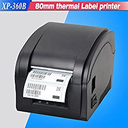 JT High Speed 80 mm USB Thermal Barcode Label Printer