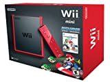 Wii Mini Red + Mario Kart Italian Import