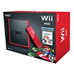 Wii Mini – Console, Black/Red con Mario Kart Wii [Bundle]