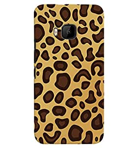 PrintVisa Corporate Print & Pattern Animal Print 3D Hard Polycarbonate Designer Back Case Cover for HTC ONE M9+