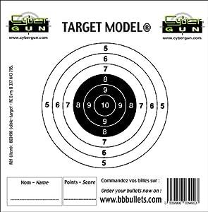 Swiss Arms Cible papier de remplacement pour cible filet