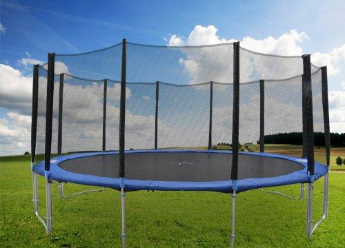 hudora trampolin kaufen 5 25m gartentrampolin inkl. Black Bedroom Furniture Sets. Home Design Ideas