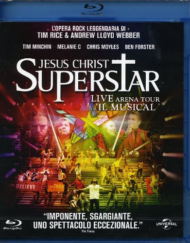 Jesus Christ superstar - Live Arena tour - Il musical (Region 2) [Italia] [Blu-ray]