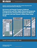 Occurrence and Potential Transport of Selected Pharmaceuticals and Other Organic Wastewater Compounds from Wastewater-Treatment Plant Influent and ... Canal Systems in Miami-Dade County, Florida
