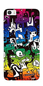 DigiPrints Designer back cover for Xiomi Mi5