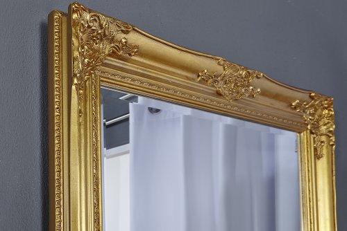 gro er barock spiegel renaissance gold 185x75cm wandspiegel. Black Bedroom Furniture Sets. Home Design Ideas