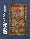 img - for Oriental Rug Review, Volume 8, Number 1 (October/November 1987) book / textbook / text book