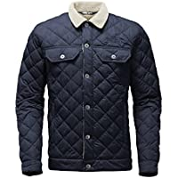The North Face Sherpa ThermoBall Men's Jacket (Urban Navy / Dijon Brown)