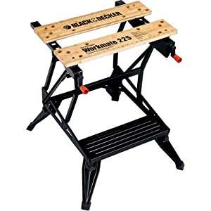 Black & Decker WM225 Workmate 225 Portable Work Bench, 450 Pound Capacity