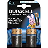 Duracell Pile Alcaline Ultra Power C 2 Piles