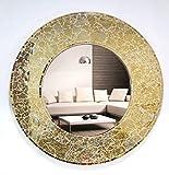 Venetian Design Mosaic Round Mirror