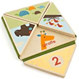 Skip Hop Giraffe Safari Fold and Play Book, 12 Months Plus