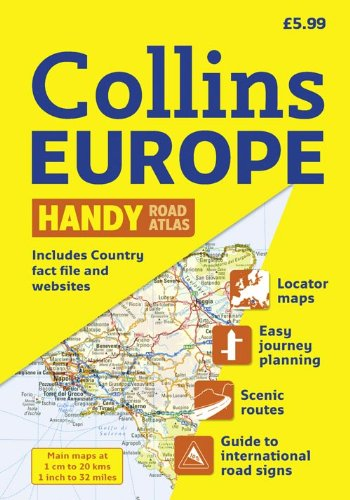 Collins Europe Handy Road Atlas: New A5 Edition (International Road Atlases) PDF