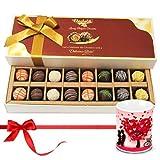 Valentine Chocholik Belgium Chocolates - Mixed Truffles Surprise With Love Mug