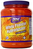 Now Foods Whey Hydrolosate Powder, Chocolate, 2 Pound