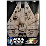 "Star Wars Millennium Falcon Acrylic Chopping Board (15"" x 11"") - Take Your Cutting Into Hyperspace"