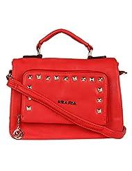 Kiara Women's Sling Bag (Red) (2965000110614)