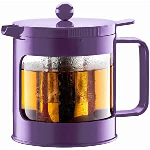 Bodum Bean 34 Ounce Tea Press in Purple