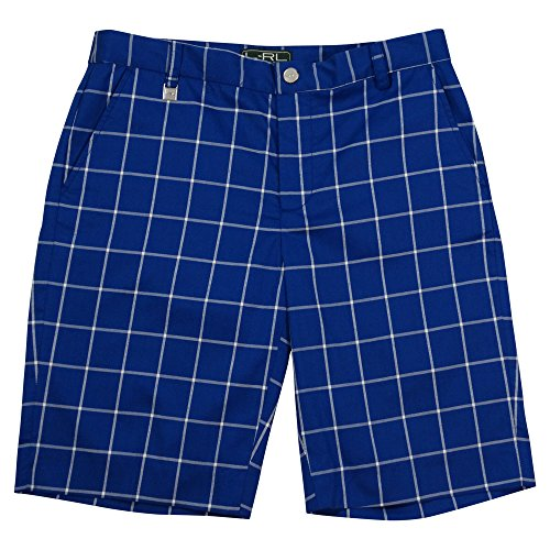 Lauren Ralph Lauren Plaid Blue Bermuda Golf Shorts (8)