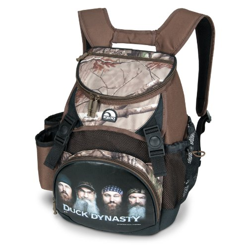Igloo Duck Dynasty Realtree Backpack Cooler, Camo, 18-Can front-1025114