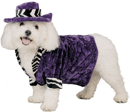 Pet Pimp Daddy Dog Costume For X-small Dogs