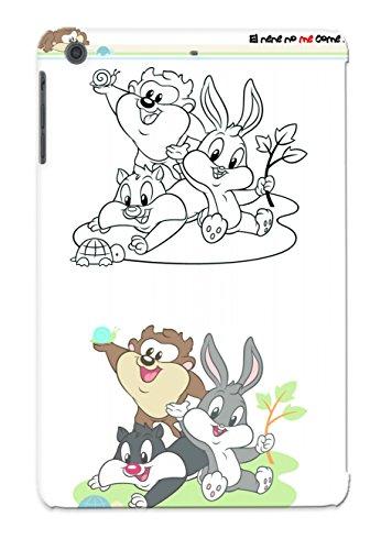 Hard Plastic Ipad Mini/Mini 2 Case Back Cover,Hot Baby Bug Bunny 3 Case At Perfect Diy front-904432