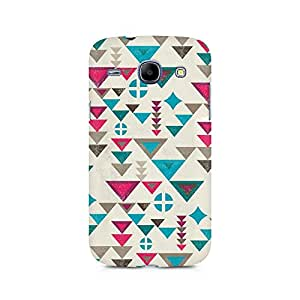 Mobicture Fusion Triangles Premium Printed Case For Samsung Grand Duos 9082