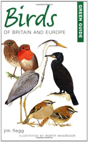 Green Guide to Birds of Britain and Europe (Michelin Green Guides), Buch