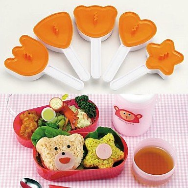 Arnest Large Rice And Vegetable Roll Mold 5 Piece Set