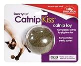 SmartyKat Catnip Kiss Cat Toy Compressed Catnip Ball