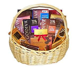 Godiva Galore Luscious Chocolate Lovers Holiday Chocolates Large Gourmet Gift Basket