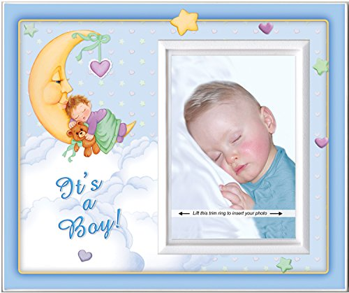 It's A Boy (Moonbaby) - Picture Frame Gift - 1