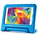 Exact Samsung Galaxy Tab 4 7.0 / Galaxy Tab 4 NOOK Case [KIDSTER Series] - Lightweight EVA Foam Protective Kid-Friendly Stand Case for Samsung Galaxy Tab 4 7.0 / Galaxy Tab 4 NOOK (SM-T230 / SM-T231 / SM-T235) Blue