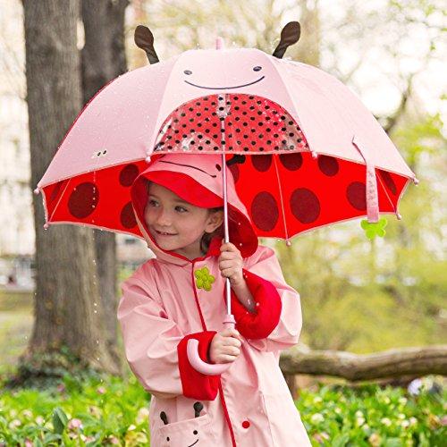 送给家中的萌宝宝,Skip Hop 动物园系列 儿童雨伞,3色可选图片