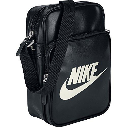 Nike Heritage Si Small Items Ii Borsa a Tracolla, Uomo, Nero (negro), 25 cm