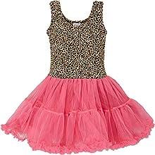 Wenchoice Hot Pink amp Leopard Tutu Dress Girl39s
