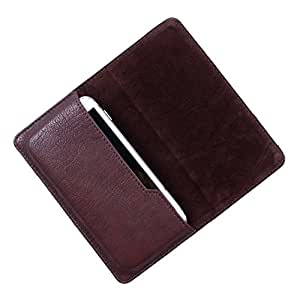 Dooda PU Leather Flip Pouch Case For Spice Smart Flo Mettle 3.5X 356