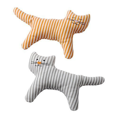 Leka Rattle, Cat / 2 Pack - Ikea - 1