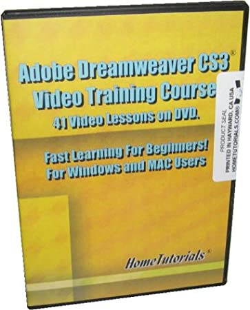 Adobe Dreamweaver CS3 Video Training Course by Hometutorials