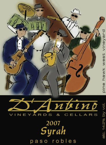 2007 D'Anbino Syrah, Paso Robles 750 Ml