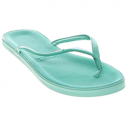 Lacoste Women's Lovina Sandal,Green/White,7 M US